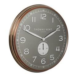 Greenwich Timekeeper No4 Oversized wall clock, 76cm, brass/grey
