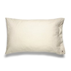 Oxford Pair of king size pillow cases, 50 x 90cm, sand