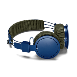 Hellas Wireless headphones with removable headband and ear cushions, trail
