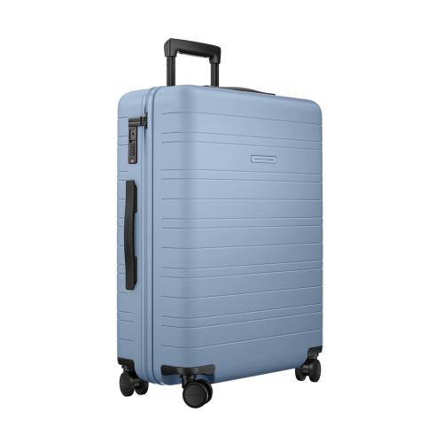 H6 Medium check-In trolley suitcase, W46 x H64 x D24cm, Blue Vega