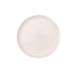 Pinch Set of 4 side plates, D21.6cm, white