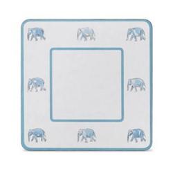 Set of 4 square table mats 24 x 24cm