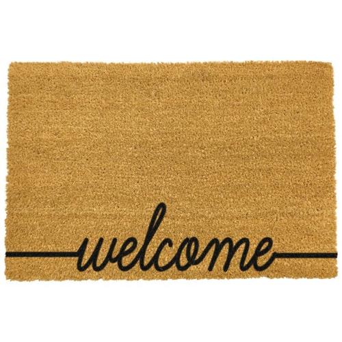 Welcome Doormat, L60 x W40 x H1.5cm