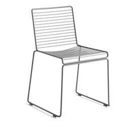 Hee Dining chair, W47.5 x D50 x H79cm, asphalt grey