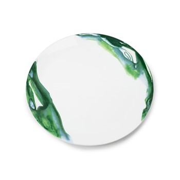 Jenny Green Dinner plate, D28.5cm, green tone