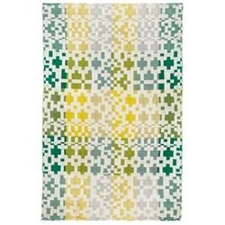 Pennan Throw, L190 x W145cm, green/yellow