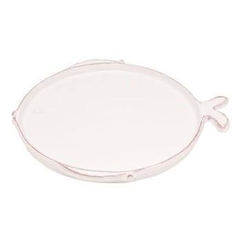 Marina Set of 6 dinner plates, D27cm, white