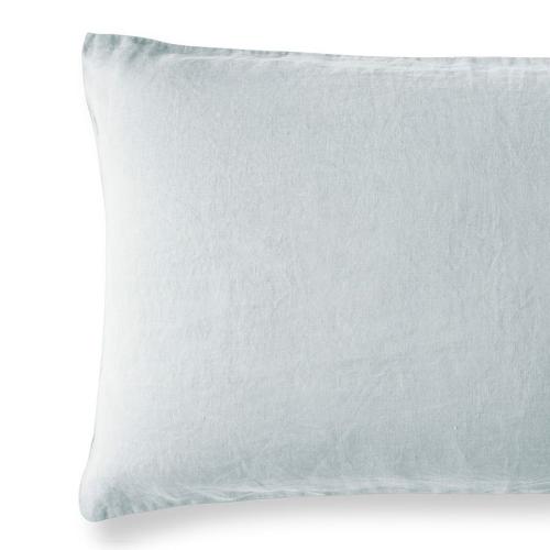 Housewife pillowcase, 50 x 75cm, moustier duck egg