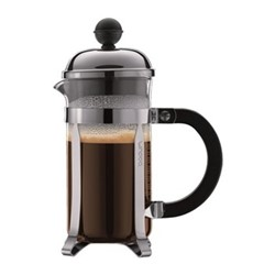 Chambord 3 cup coffee maker, 35cl, silver/black