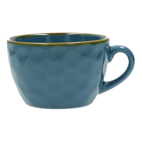 Concerto Set of 4 breakfast cups, 420ml, Blue