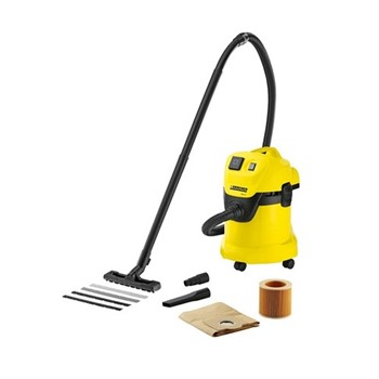 Multi purpose vacuum with power outlet