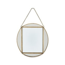 "Teema Oval frame, 8 x 10"", antique brass"