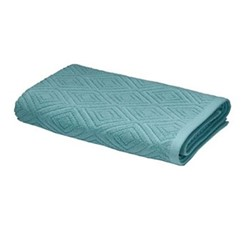 Diamond Sculpture Hand Towel, 50 x 85cm, teal