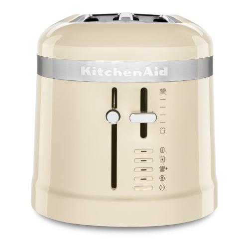 Design 4-slice long slot toaster, Almond Cream