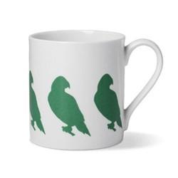 Parakeet Mug, D8.5 x H9cm - 1 pint