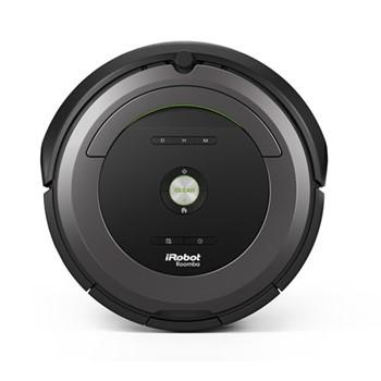 Roomba 681 Smart robotic vacuum cleaner, D33.5 x H9.3cm - 0.6 Litre, black/grey