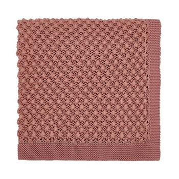 Cottage Check Throw, L200 x W140cm, pink