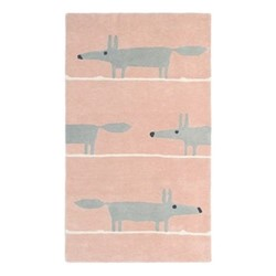 Mr Fox Rug, W140 x L200cm, blush