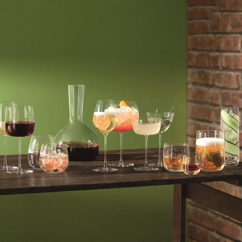 Borough Set of 4 glasses, 625ml, clear