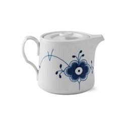 Blue Fluted Mega Teapot, 75cl