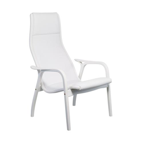 Lamino Chair, W70 x D78 x H101cm, White Pigmented Oak