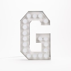 Vegaz G Letter light, H60cm