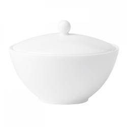 White Covered sugar bowl