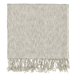 Grain Throw, L130 x W170cm, sage