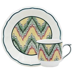 Dominoté - Louis XIII Espresso cup and saucer, 14cm - 8.5cl