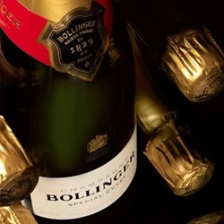 Case of non-vintage Bollinger Champagne 6 bottles