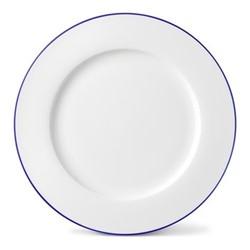 Rainbow Collection Dinner plate, 27cm, persian blue rim