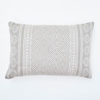 Kalkan Cushion, L60 x W40cm, chinchilla