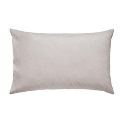 300 Thread Count Plain Dye Blue Hotel Standard pillowcase, L48 x W74cm, cashmere