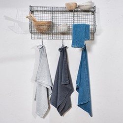 Abeto Tea towel, 70 x 50cm, washed grey