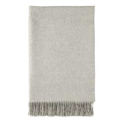 Cashmere throw, 230 x 150cm, Silver