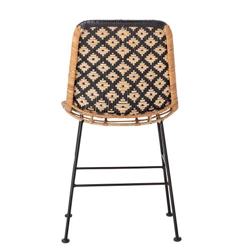 Kitty Dining chair, H80 x W55 x L44cm, Black