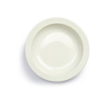 Coffee & More Serving plate, Dia30cm, white