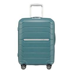 Flux Spinner expandable suitcase, 55 x 40 x 20/24cm, arctic blue