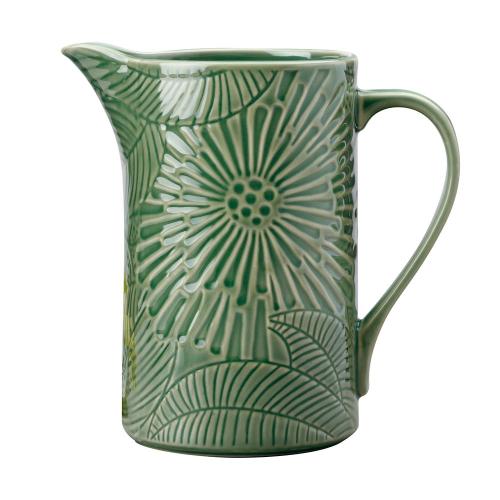 Panama Panama Stoneware Pitcher Kiwi, Green