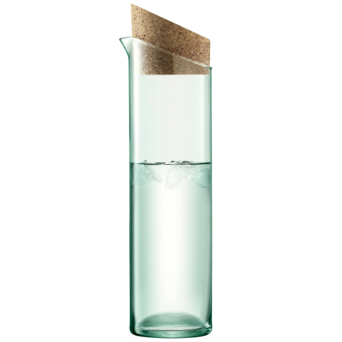 Canopy Carafe, 1.3 Litre, clear/cork