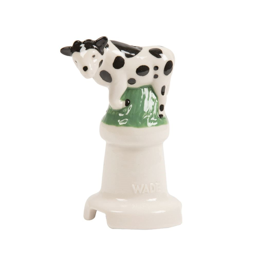 Cow Pie funnel, 11cm, Black/Cream