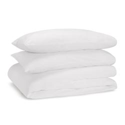 Soft & Smooth Luxury - 600 TC Full super king size duvet set, white