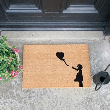 Balloon Doormat , L60 x W40 x H1.5cm