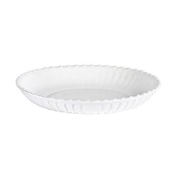 Lamorran Medium low serving bowl, D31 x H5cm, white