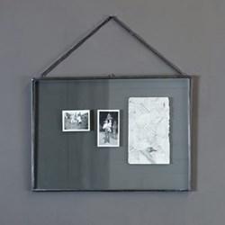 Kiko Gigantic frame - portrait, H50 x L35cm, antique metal