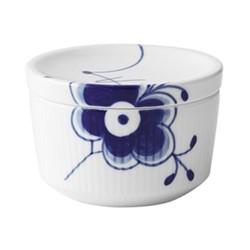 Blue Fluted Mega Sugar bowl, 20cl