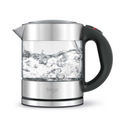 The Compact Kettle Pure Kettle, 1 litre, Stainless Steel