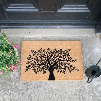 Tree of Life Doormat , L60 x W40 x H1.5cm