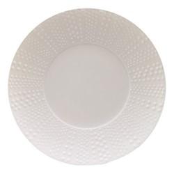 Sania Set of 6 dinner plates, 27.5cm, white