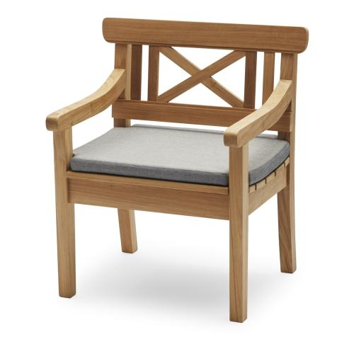 Drachmann Chair cushion, L65 x W51 x H5cm, Ash
